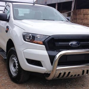 Ford-Ranger-PX-11-2016---2018-Stainless-steel-nudge-bar-with-stone-guard