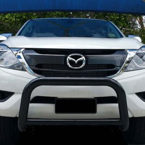 Mazda-BT50-2016---2018-Black-steel-nudge-bar